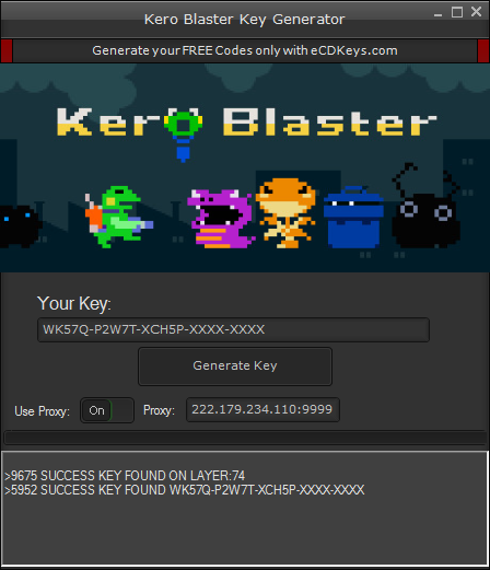 Kero Blaster cd-key