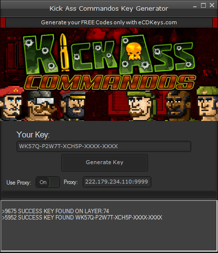 Kick Ass Commandos cd-key