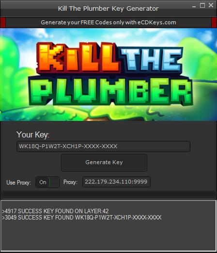 Kill The Plumber cd-key