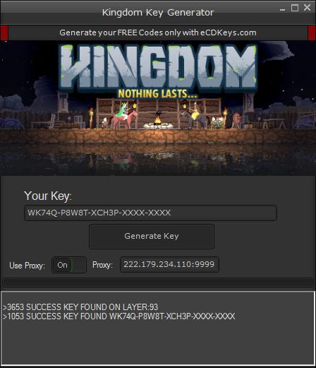 Kingdom cd-key
