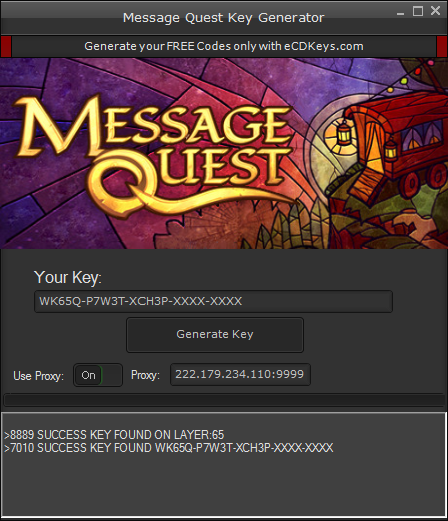 Message Quest cd-key
