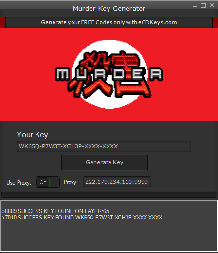 Murder cd-key