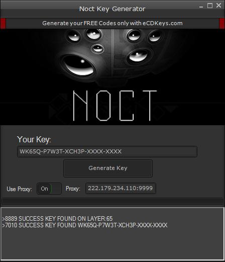 Noct cd-key