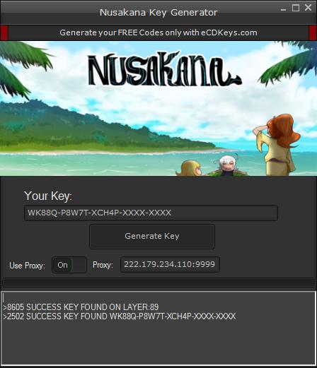 Nusakana cd-key