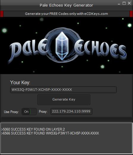 Pale Echoes cd-key