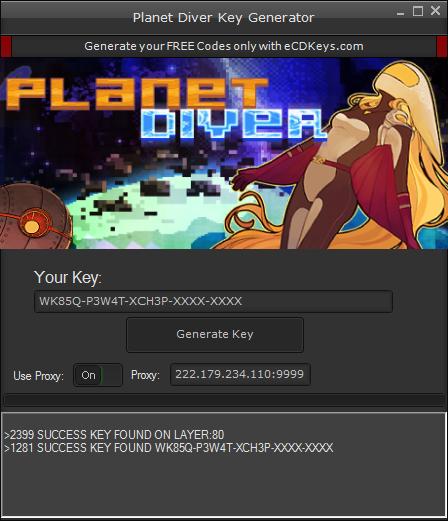 Planet Diver cd-key
