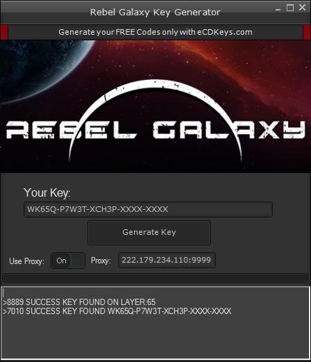 Rebel Galaxy cd-key