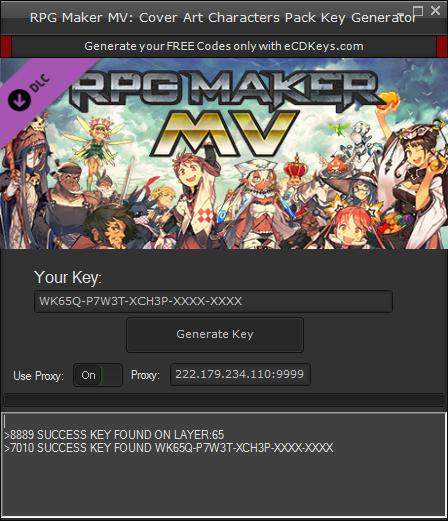 RPG Maker MV: Cover Art Characters Pack cd-key