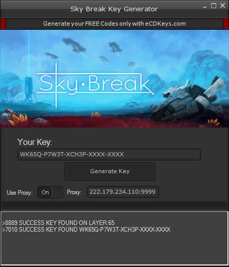 Sky Break cd-key