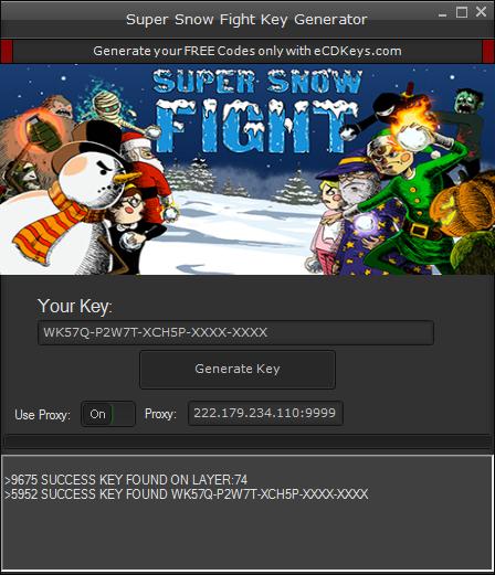 Super Snow Fight cd-key