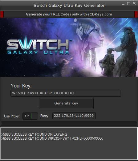 Switch Galaxy Ultra cd-key