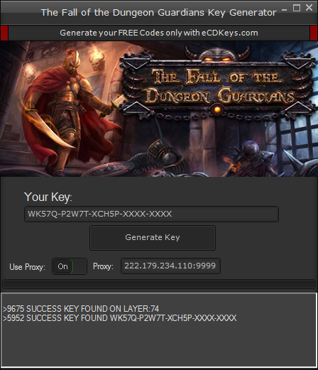 The Fall of the Dungeon Guardians cd-key