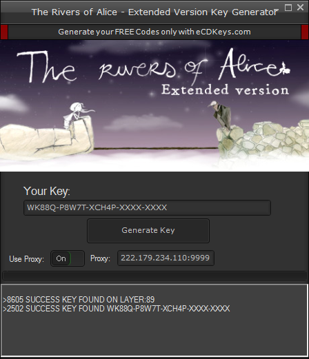 The Rivers of Alice - Extended Version cd-key