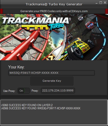 Trackmania Turbo cd-key