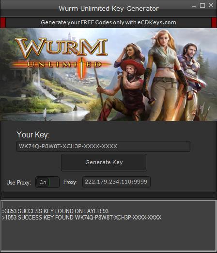 Wurm Unlimited cd-key