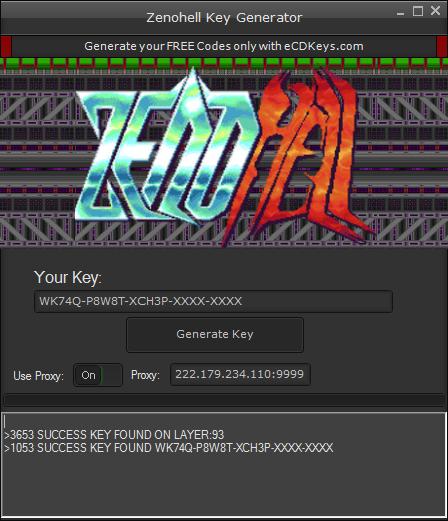 Zenohell cd-key