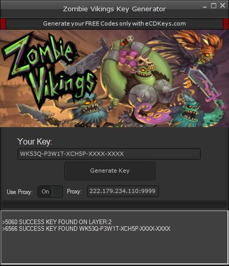 Zombie Vikings cd-key