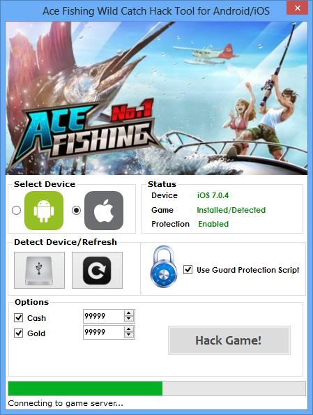 Ace Fishing Wild Catch Hack