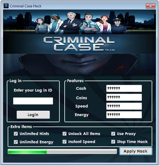 Astuce Criminal Case