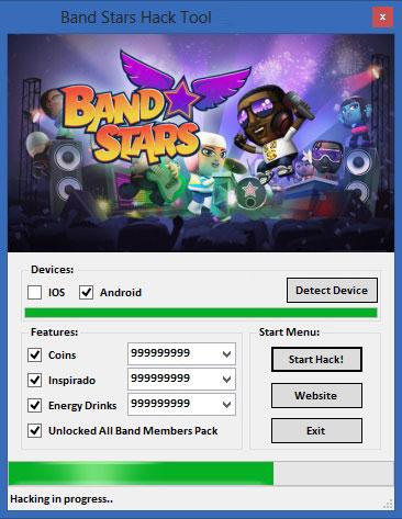 Band Stars Hack