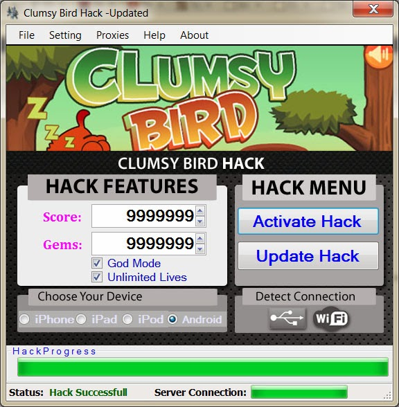 Clumsy Birds Hack And Cheats