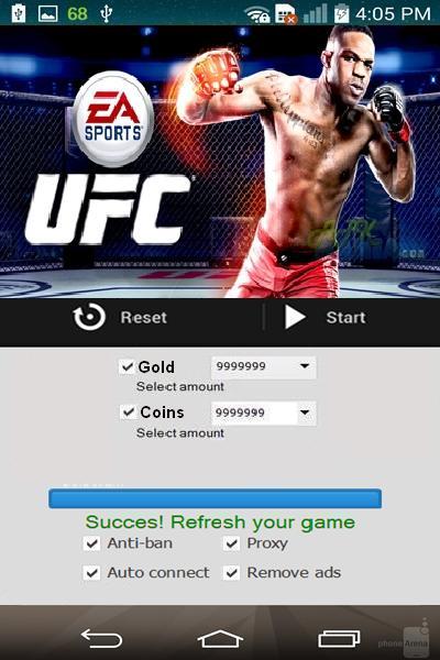 EA SPORTS UFC pirater ou de tricher