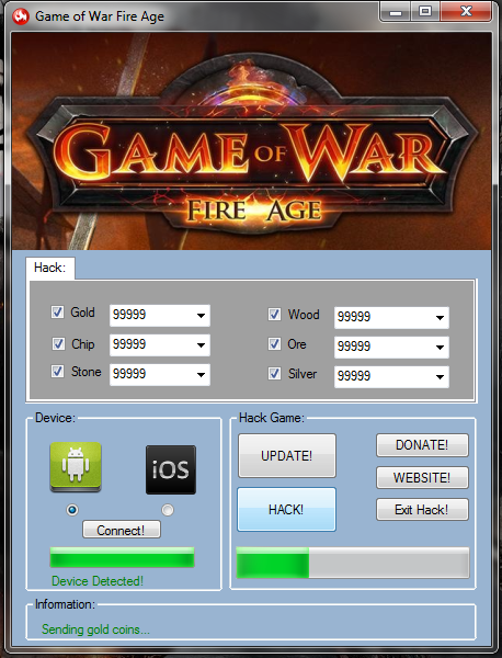 Game of War - Fire Age Triche Astuce Outil