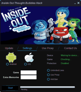 Inside Out Thought Bubbles Hack