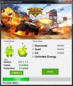 Iron Desert Hack