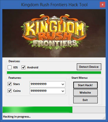 Kingdom Rush Frontiers Hack