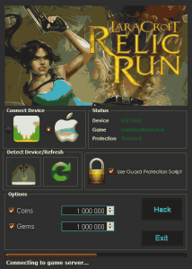 Lara croft: relic run Hack Tool