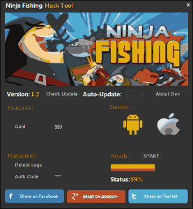 Ninja Fishing Hack Tool