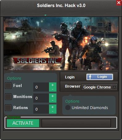 Soldiers Inc Hack