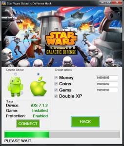 Star Wars Galactic Defense Hack