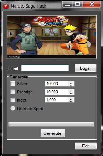 Naruto Saga Hack