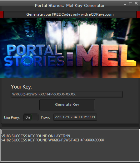 Portal Stories: Mel cd-key