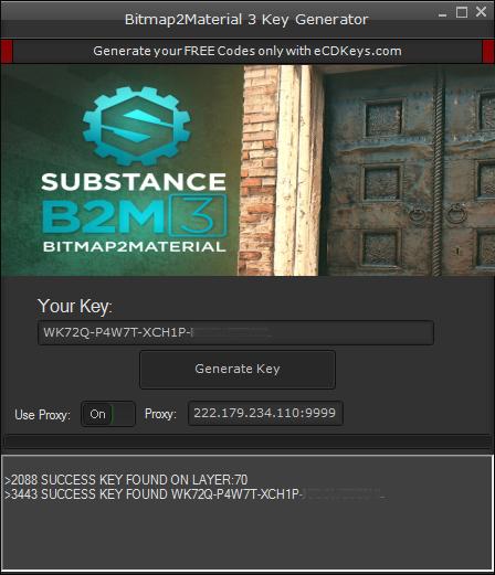 Bitmap2Material 3 cd-key