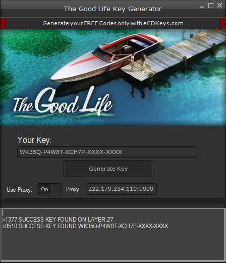 The Good Life cd-key