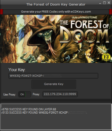 The Forest of Doom cd-key