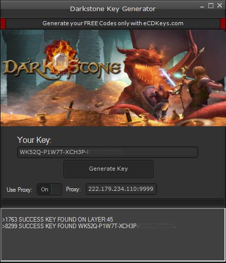 Darkstone cd-key