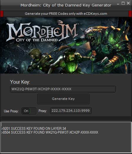 Mordheim: City of the Damned cd-key