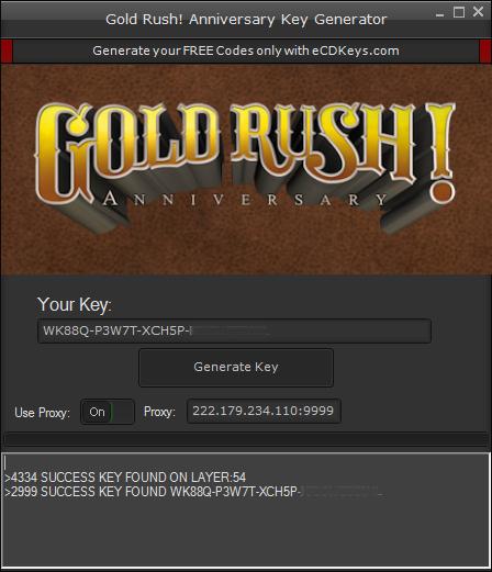 Gold Rush! Anniversary cd-key