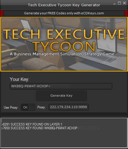 Tech Executive Tycoon cd-key