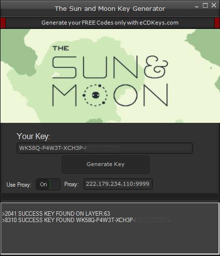 The Sun and Moon cd-key