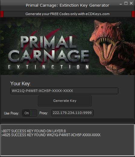 Primal Carnage: Extinction cd-key