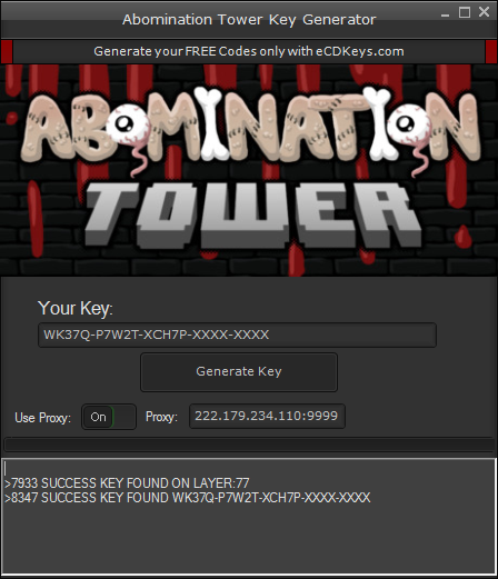 Abomination Tower cd-key
