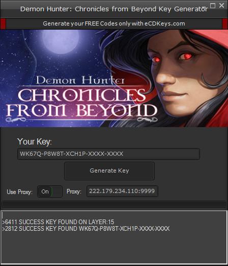 Demon Hunter: Chronicles from Beyond cd-key