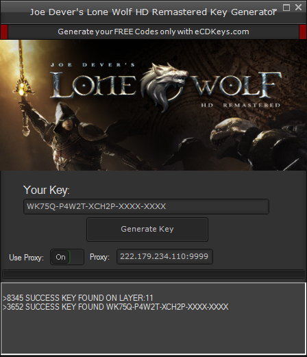 Joe Dever's Lone Wolf HD Remastered cd-key