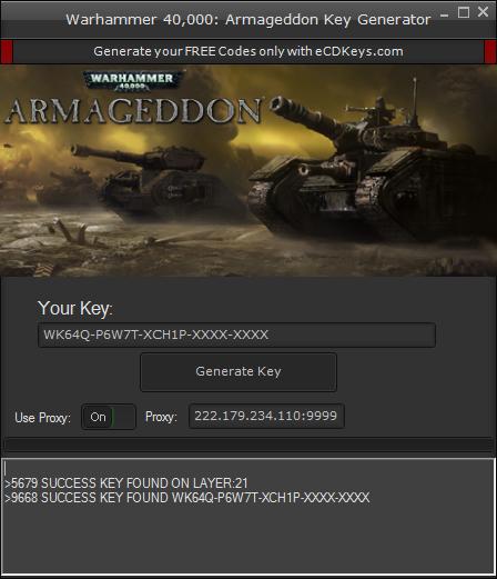 Warhammer 40,000: Armageddon cd-key