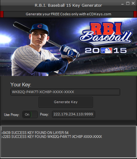 R.B.I. Baseball 15 cd-key